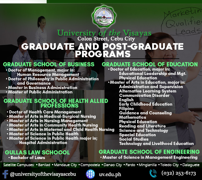 6 Grad and Post grad Programs